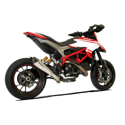Echappement satiné bas HP Corse racing Ducati Hypermotard 939