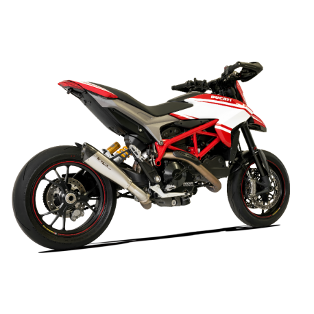 Echappement satiné bas HP Corse racing Ducati Hypermotard 939