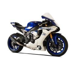 Silencieux racing EVOXTREM 260 noir HP Corse Yamaha R1 et décatalyseur
