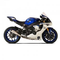 Silencieux racing EVOXTREM 260 silver HP Corse Yamaha R1 et décatalyseur