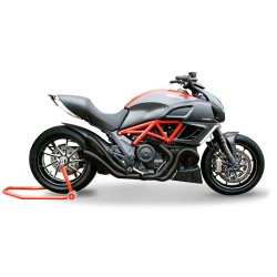SILENCIEUX HYDROFORM NOIR HOMOLOGUES VERSION EVOLUTION HP CORSE DUCATI DIAVEL