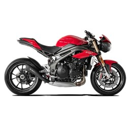 SILENCIEUX HYDROFORM NOIR RACING HP CORSE TRIUMPH SPEED TRIPLE 2016 A 2018