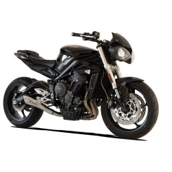 SILENCIEUX HYDROFORM INOX SATINE RACING HP CORSE TRIUMPH STREET TRIPLE 765