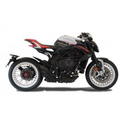 Silencieux racing hydro 3 Mv Agusta Dragster noir