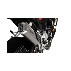 SILENCIEUX 4-TRACK INOX SATINE HOMOLOGUE BMW F 850 GS
