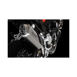 SILENCIEUX 4-TRACK INOX SATINE HOMOLOGUE BMW F 850 GS