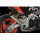 SILENCIEUX HP CORSE EVOXTREME INOX NOIR RACING APRILIA TUONO 1100 V4 / RSV4