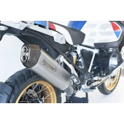 SILENCIEUX SPS CARBON INOX SATINE HOMOLOGUE BMW R 1250 GS