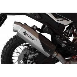 SILENCIEUX 4 TRACK HP CORSE INOX SATINE KTM ADVENTURE