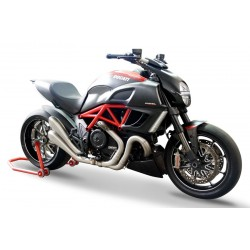 SILENCIEUX HYDROFORM SATIN HOMOLOGUES VERSION EVOLUTION HP CORSE DUCATI DIAVEL
