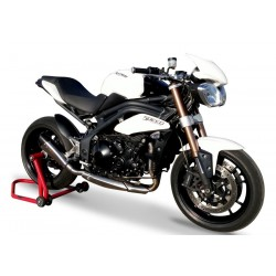 SILENCIEUX HP CORSE EVOXTREM INOX SATIN HOMOLOGUE TRIUMPH SPEED TRIPLE